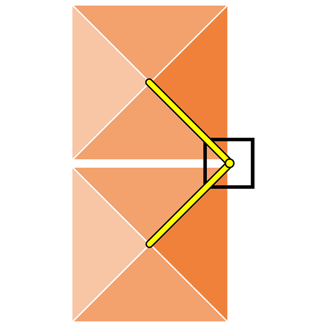 Rectangular SV Lateral Double