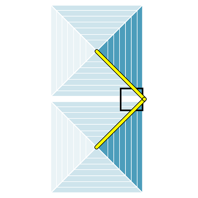 Rectangular Lateral Double